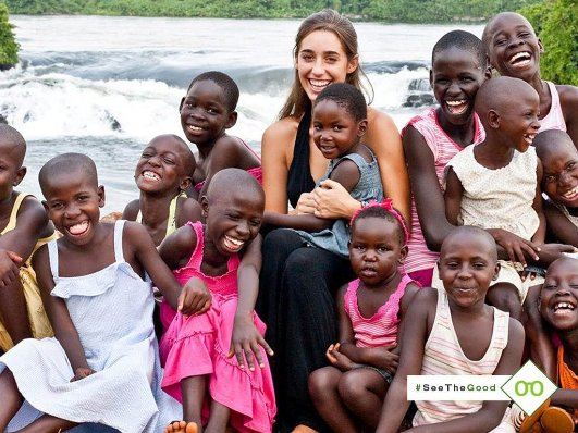 WomanAdopts13BlackChildrenInUganda